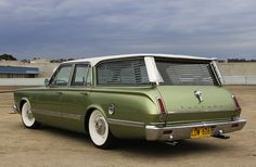 1966 Plymouth Valiant Regal surf wagon. Wish I knew how to surf, just so I could drive to the beach in one of these.