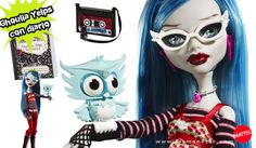 Muñeca Ghoulia Yelps con diario monstruoso