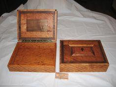 Custom Bible Boxes (cherry and walnut)