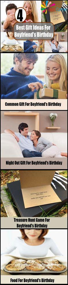 4 Best Gift Ideas For Boyfriend's Birthday