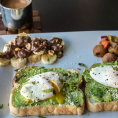 SIMPLE POACHED EGG AND AVOCADO TOAST FoodBlogs.com