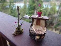 handmade fairy dollhouse furniture - Yahoo Image Search Results