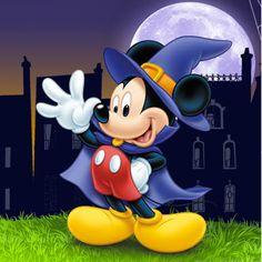 Halloween will be here soon Disney Mickey Mouse, Mickey Mouse Y Amigos, Mickey Mouse And Friends, Disney Style, Disney Love, Disney Magic, Disney Disney, Disney Halloween, Mickey Mouse Halloween