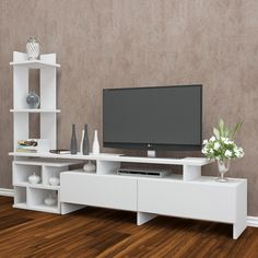 Home Discount Designer Brands - Up to off - BrandAlley Small Living Room Ideas With Tv, Living Room Tv Unit Designs, Bedroom Cupboard Designs, Small Living Rooms, Tv Unit Furniture, Diy Pallet Furniture, Home Decor Furniture, Furniture Design, Nordic Living Room