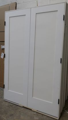 Modern 1 Panel Shaker Doors with Oil Rubbed Bronze Hinges 1 Panel Shaker Doors, Shaker Cabinets, Interior Doors, Contemporary, Modern, Armoire, Bronze, Oil, Furniture