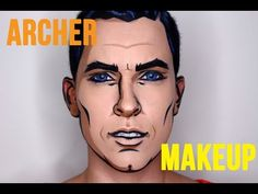Sterling Archer Loot Wear August 2016 Makeup Tutorial - YouTube