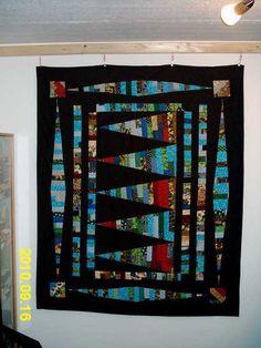 Quilt, ca,125 x 150 cm groß, Top aus Baumwolle, Rücken aus Fleecestoff, hanfgequilltet  Baumwolle 53% Polyester 47%