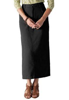 Jessica London Plus Size Jessica London Plus Size L-Pocket Long Skirt $24.99