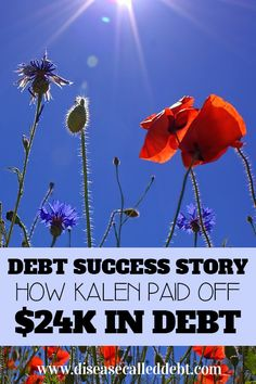 This edition of Debt Success Stories tells how Kalen worked really hard to pay off $24,000 in consumer debt in less than 2 years. Read on and be inspired!