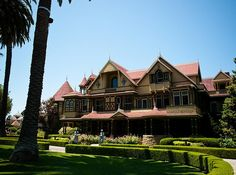 top 10 haunted houses in the US. number 1 being the Winchester House. I was there in 1994 on a friday the 13th midnight flashlight tour & it was amazing!