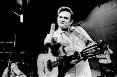 Johnny Cash by Jim Marshall