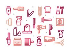 Here is FREE Hair Salon Icons by Sooodesign which are a set of tip top icons for your hairdressing website. Hair Salon Logos, Hair Salons, Hair Icon, Digital Scrapbook Paper, Salon Design, Free Hair, Clipart, Icon Set, Scrapbooking