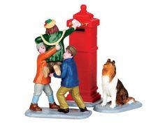 Lemax Mailbox Teamwork