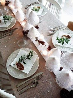 idee tavola Natale