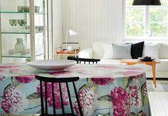 Kevään 2015 mallistoa Hortensia Finland, Kitchen Ideas, Table, Furniture, Design, Home Decor, Decoration Home, Room Decor