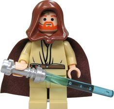 LEGO Star Wars: Obi-Wan Kenobi Minifigura Con Azul Sable De Luz: Amazon.es: Juguetes y juegos