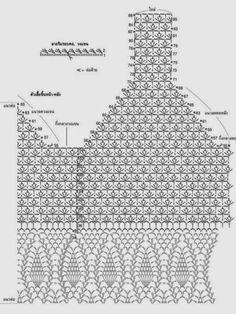 Discover thousands of images about Marisabel crochet tops a crochet patrones ile ilgili görsel sonucu This Pin was discovered by Pim Motif Bikini Crochet, Tops A Crochet, Crochet Bra, Crochet Shirt, Crochet Diagram, Crochet Clothes, Crochet Patterns, Crochet Edgings, Irish Crochet
