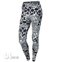 d2cf5f1119e75 Nike Club Printed Aop Legging Damen Sport Leggings Fitness Jogging Leggings  S in Kleidung   Accessoires