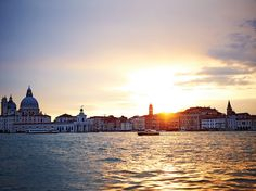 End your night with a Venetian Spritz and this gorgeous sunset view.