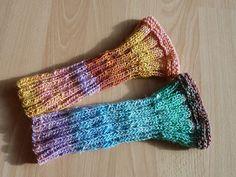 Ravelry: We-love-Noro Wrist Warmers pattern by Annette Maass