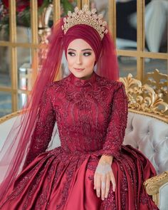 Image may contain: 1 person, standing Hijabi Wedding, Disney Wedding Dresses, Pakistani Wedding Dresses, Bridal Hijab, Hijab Bride, Turkish Wedding Dress, Simple Hijab, Hijab Style Dress, Eid Outfits