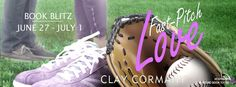 Check out this ‪#‎BookBlitz‬ featuring, Fast-Pitch Love by Clay Cormany! Learn more about the book and the author, and enter to win here!