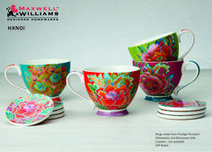 SPICE UP YOUR MUG CUPBOARD WITH THIS NEW RANGE FROM MAXWELL WILLIAMS HANOI