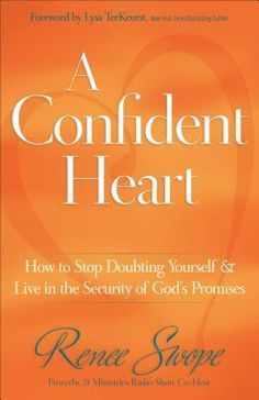 A cover can speak a 1000 words. How to stop doubting yourself and live in the security of God's promises, Proverbs 31 Ministries speaker, Renee Swope helps us step out of the shadows of self-doubt to live with a confident heart. Good Books, Books To Read, My Books, Reading Lists, Book Lists, Reading Books, Proverbs 31 Ministries, Online Bible Study, Gods Promises