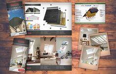 Diseño de tripticos y flyers promocionales
