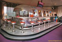 A retro Airstream converted into a diner!