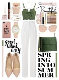 """""""spring into summer // #150"""" by jk802 ❤ liked on Polyvore featuring ZoÃ« Chicco, Puma, Amanda Wakeley, Charlotte Olympia, Nine West, Stila, Yves Saint Laurent, Belkin, Topshop and By Terry"""