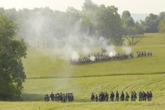 The Battle of Richmond took place 150 years ago. Today it was re-enacted.