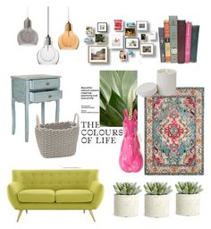 """""""Untitled #11"""" by jkopossova-1 on Polyvore featuring Allstate Floral, Safavieh, Global Views and Modern.Southern.Home."""