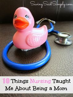 Saving Said Simply: 10 Things Nursing Taught Me About Being a Mom