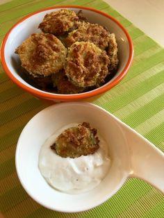 Sütőben sült sajtos cukkini chips fűszeres mártogatóssal - Főételek - Gluténmentes övezet - blog Chips, Blog, Health, Potato Chip, Potato Chips