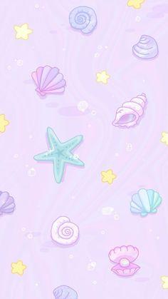 Iphone lock screen wallpaper disney little mermaids 55 Best Ideas Wallpaper Natal, Unicornios Wallpaper, Cute Pastel Wallpaper, Summer Wallpaper, Cute Patterns Wallpaper, Kawaii Wallpaper, Cute Wallpaper Backgrounds, Pretty Wallpapers, Galaxy Wallpaper