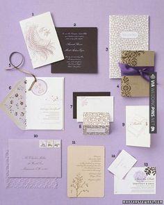 Amazing - invitation suite! | CHECK OUT MORE GREAT PURPLE WEDDING IDEAS AT WEDDINGPINS.NET | #weddings #wedding #purplewedding #purpleweddingphotos #events #forweddings #iloveweddings #purple #romance #vintage #planners #ilovepurple #ceremonyphotos #weddingphotos #weddingpictures