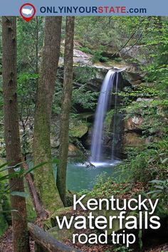 Travel | Kentucky | Attractions | Road Trips | Waterfalls | Nature | Things To Do | USA | Waterfalls Road Trip | Adventure | Outdoors | Easy Hikes | State Parks | Hidden Gems | Natural Beauty | Kentucky Road Trips | Explore | Cumberland Falls | Destinations