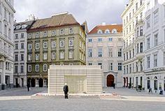 Jabornegg & Pálffy & Rachel Whiteread - The underground Judenplatz Museum and Holocaust memorial, Vienna 2000
