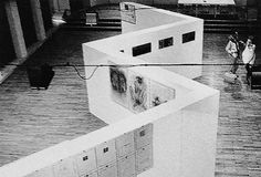 "Angiolo Giuseppe Fronzoni. "" Display System, 1980, exhibitions at Genoa Royal Palace"""
