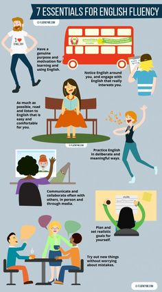 7 Essentials For English Fluency