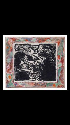 . Pierre Alechinsky - Entièrement peint à la main, 1989 - Ink and acrylic on paper laid on canvas - 155 x 182 cm Mural Painting, Paintings, Color Pencil Art, Fresco, Colored Pencils, Murals, Pergola, Artsy, Entertainment