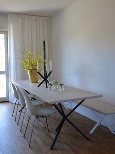 NoEarlyBirds - Per Söderberg - NEB Rectangular Table top in oak, 240x80 cm