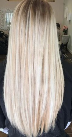 Gorgeous icy blonde!