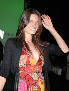 #StanaKatic at the Mercedes-Benz L.A. Fashion Week (2007)