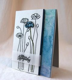 SC480 Sympathy Card by Weekend Warrior - Cards and Paper Crafts at Splitcoaststampers
