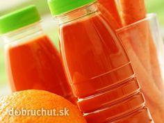 Výborný domáci džús Hot Sauce Bottles, Food And Drink, Smoothie, Homemade, Tableware, Recipes, Kitchen, Syrup, Smoothies