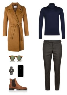 House of Madalani by houseofmadalani on Polyvore featuring polyvore, Thom Browne, John Smedley, Ports 1961, Salvatore Ferragamo, men's fashion, menswear and clothing