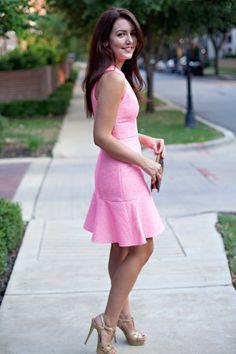 Textured Dress   Dallas Wardrobe