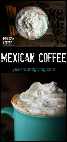 Mexican Coffee made with KahluaMexican Coffee  Makes 1   Ingredients  3 oz. espresso 3 oz. steamed milk or half & half 1 oz. vanilla syrup 1 oz. Kahlua coffee liqueur a dash of cinnamon and a pinch to sprinkle on top. whipped cream for topping